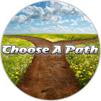 Choose A Path - Rainbow Reading Programme