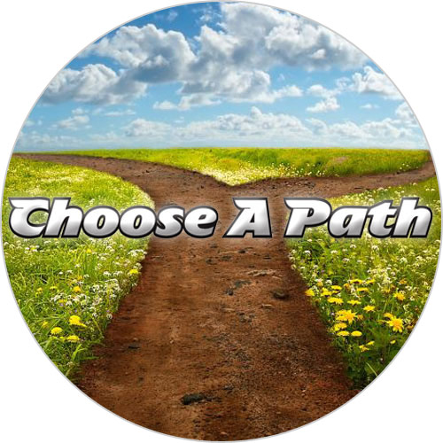 Choose a Path - Rainbow Reading