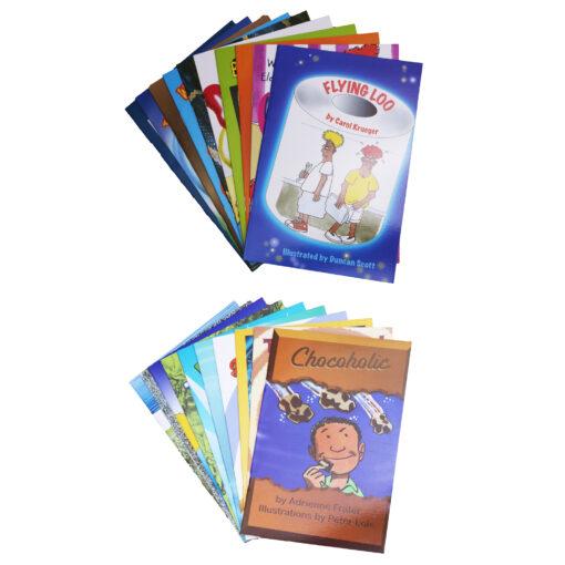 Toxic set of 20 books